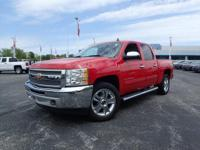 CARFAX One-Owner. Clean CARFAX. Red 2012 Chevrolet