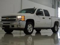 2012 Chevrolet Silverado 1500 LT in Summit White, 4WD,