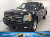 Black 2012 Chevrolet Silverado 1500 LT 4WD 6-Speed