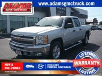 CARFAX One-Owner. Clean CARFAX. Silver 2012 Chevrolet