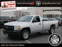 Options:  2012 Chevrolet Silverado 1500 Work