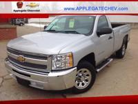 Options:  2012 Chevrolet Silverado 1500 Work Truck 4X2