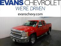GM Certified! Extended Cab! 6 Cylinder Engine! Work