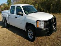Options:  2012 Chevrolet Silverado 1500 4X4 4Dr Crew