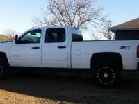 It is a 2012 Chevy Duramax 2500HD Silverado crewcab Z71
