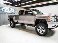 2012 CHEVROLET 2500HD TEAM TAXI LTZ 4X4 LIFTED: MOCHA