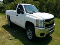 Options:  2012 Chevrolet Silverado 2500Hd 4X2 2Dr
