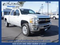 ONE OWNER, LEATHER, HEATED SEATS, 6.6 DURAMAX, LOADED,