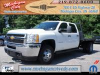 8ft Flat Bed, 4x4, 6.6 Liter DuraMax Diesel Engine,