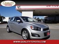 2012 CHEVROLET Sonic 5dr HB LT 2LT Hatch 2LT Our