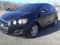 2012 Chevrolet Sonic. This car has the fuel saving 1.8L