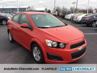 New Price!  Chevrolet Sonic  Clean CARFAX. CARFAX
