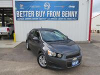 Internet Special on this ample 2012 Chevrolet Sonic