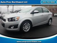 2012 chevrolet sonic lt1-owner, clean carfaxfully