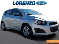 Options:  2012 Chevrolet Sonic Lt|Silver/|V4 1.8L