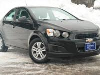 2012 Chevrolet Sonic, Black, One Owner, Accident Free