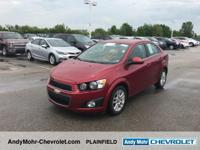 Chevrolet Sonic  Clean CARFAX. Odometer is 44041 miles
