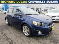 This Chevrolet Sonic has a dependable Gas I4 1.8L/110