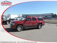 Options:  2012 Chevrolet Suburban 1500 Lt|Red|Tan