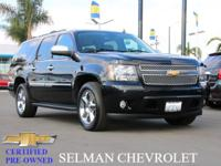 Certified Vehicle! This 2012 Chevrolet Suburban LTZ