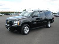 2012 Chevrolet Suburban LT CPO, V8, Flex Fuel, 5.3