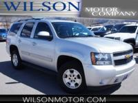 Clean CARFAX. Silver 2012 Chevrolet Tahoe LT 4WD