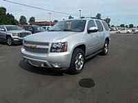 Silver 2012 Chevrolet Tahoe LTZ 4WD 6-Speed Automatic