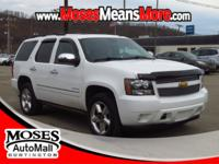 New Price! 2012 Summit White Chevrolet Tahoe LTZ