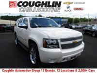 This 2012 Chevrolet Tahoe LTZ in White Diamond