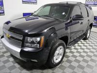New Price! Clean CARFAX. Black 2012 Chevrolet Tahoe LT