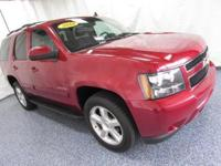 2012 Chevrolet Tahoe LT Crystal Red Tintcoat Clean