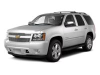 Used 2012 Chevrolet Tahoe, key features include: an