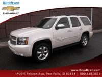 Options:  2012 Chevrolet Tahoe Ltz|White Diamond