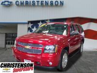 2012+Chevrolet+Tahoe+LTZ+In+Crystal+Red+Tintcoat+GM+CER