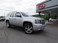 Clean CARFAX. Silver Ice Metallic 2012 Chevrolet Tahoe