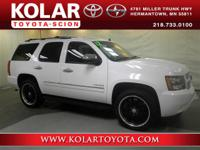 Tahoe LTZ, 4WD, Clean Auto Check History Report, and