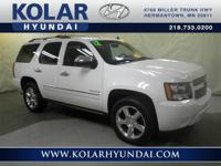 Tahoe LTZ and NEW TIRES. Looks and drives like new. The