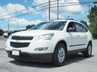 Treat yourself to this 2012 Chevrolet Traverse LS,