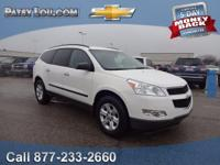 2012 Chevrolet Traverse LS. You NEED to see this SUV!