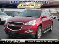 Options:  2012 Chevrolet Traverse Lt|Awd Lt 4Dr Suv W/