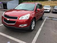 New Price! This 2012 Chevrolet Traverse in Crystal Red