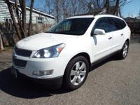 This All-Wheel-Drive Traverse is ALSO package with the