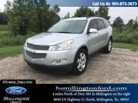 NICE 2012 Traverse LTZ! LOCAL TRADE! Great options like