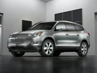 This 2012 Chevrolet Traverse LTZ FWD at Hyundai of