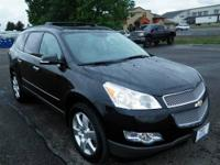 This muscular 2012 Traverse LTZ with its grippy AWD