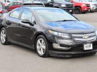 New Price! CARFAX One-Owner. Black 2012 Chevrolet Volt