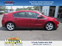 This 2012 Chevrolet Volt in Crystal Red Tintcoat is