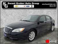 This low mileage 2012 Chrysler 200 is a fresh, local