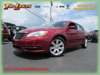 This 2012 Chrysler 200 is offered to you for sale by