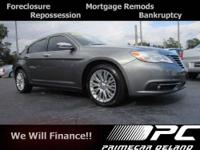 Make your move on this 2012 Chrysler 200 Touring. It